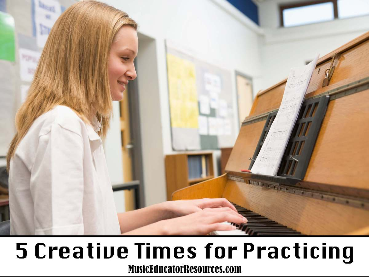 5 Creative Times for Practicing