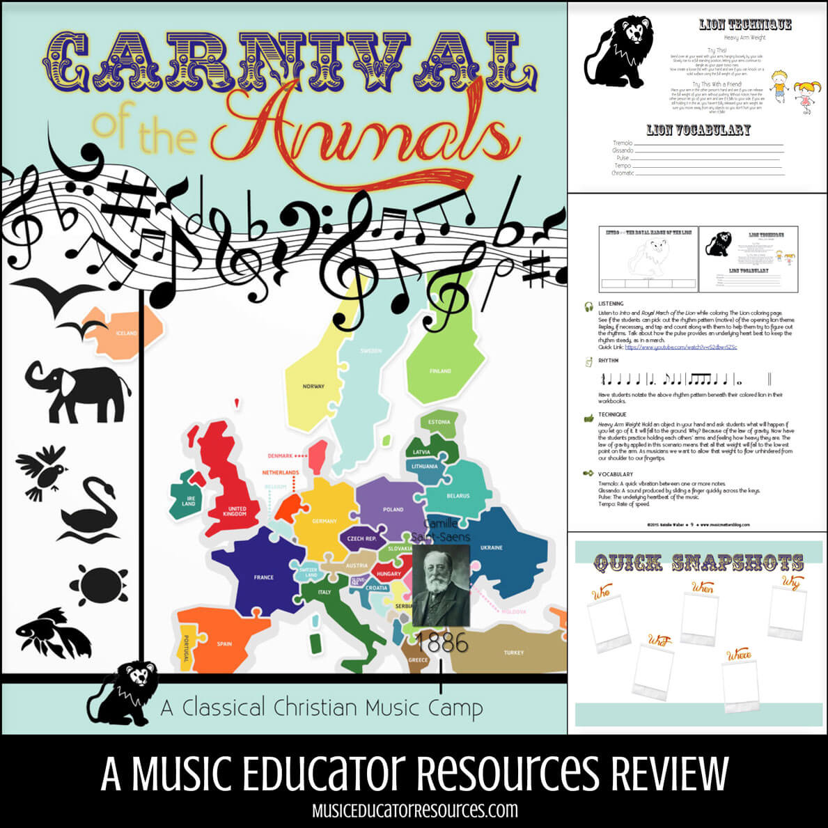 Review: Carnival of the Animals Music Camp