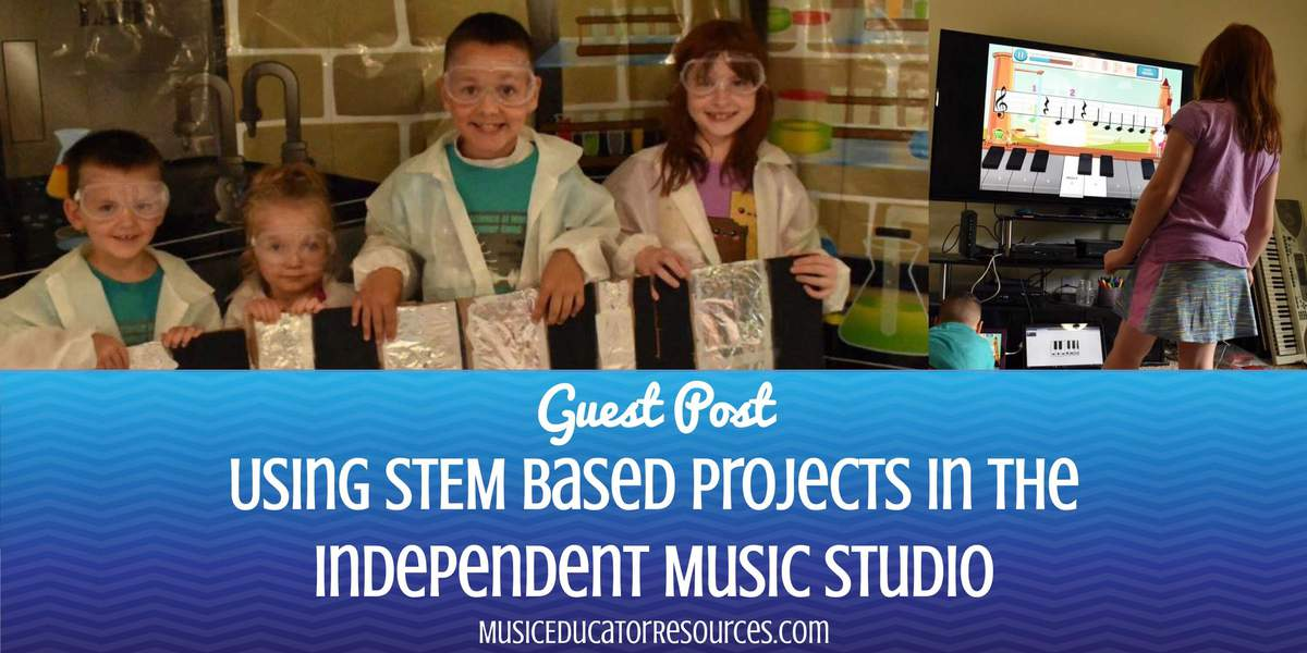 Be Our Guest: Using STEM Based Projects in the Independent Music Studio