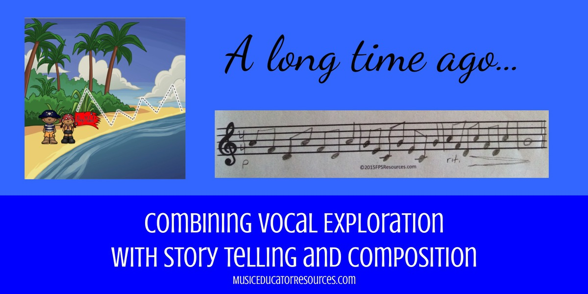 Combining Vocal Exploration with Story Telling and Composition