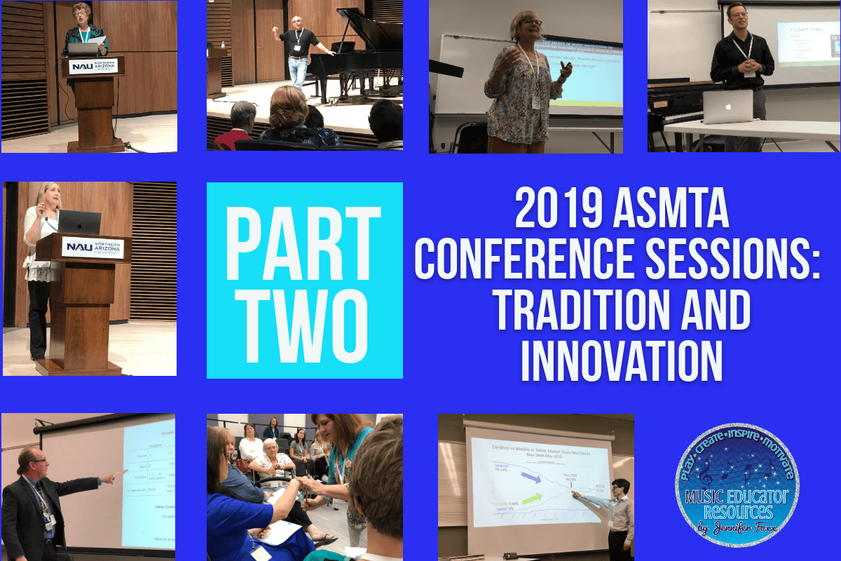 ASMTA Conference Sessions: Tradition and Innovation Part 2