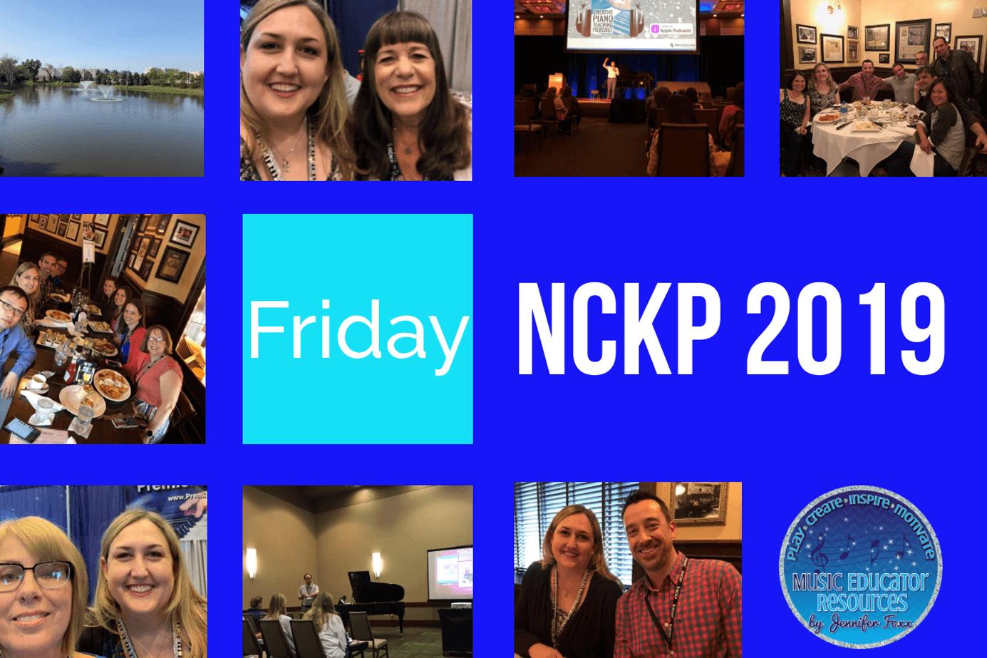 NCKP 2019 Conference Friday
