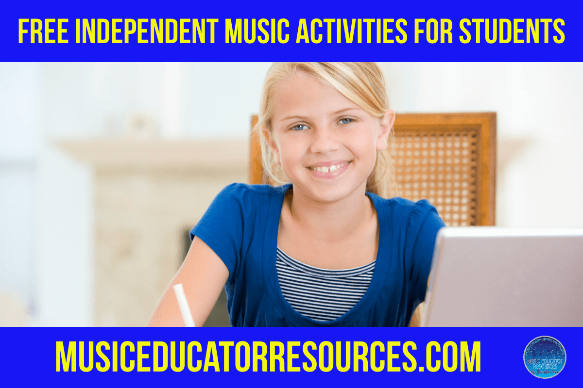 Free Independent Music Activities for Students