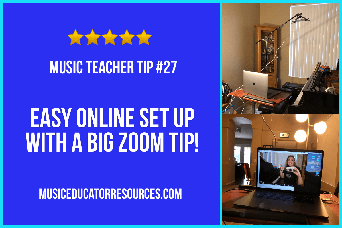 Easy Online Teaching Setup (Music Teacher Tip #27)
