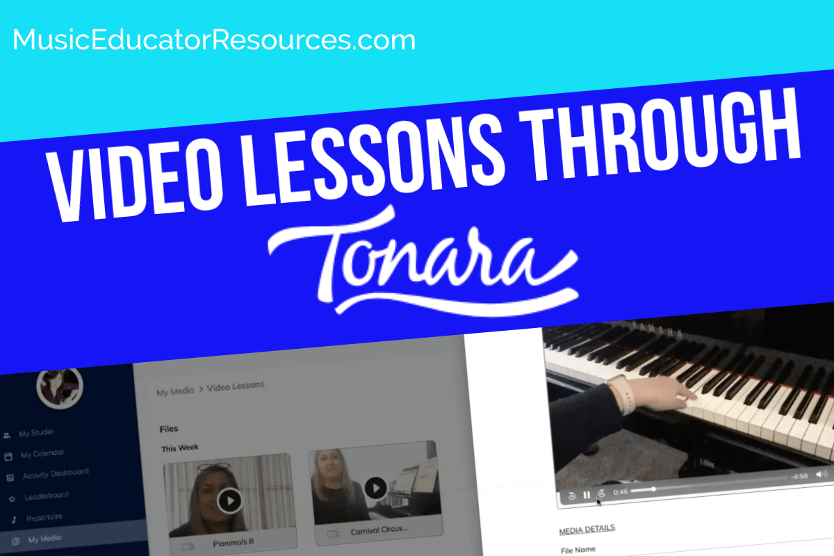 Video Lessons Through Tonara