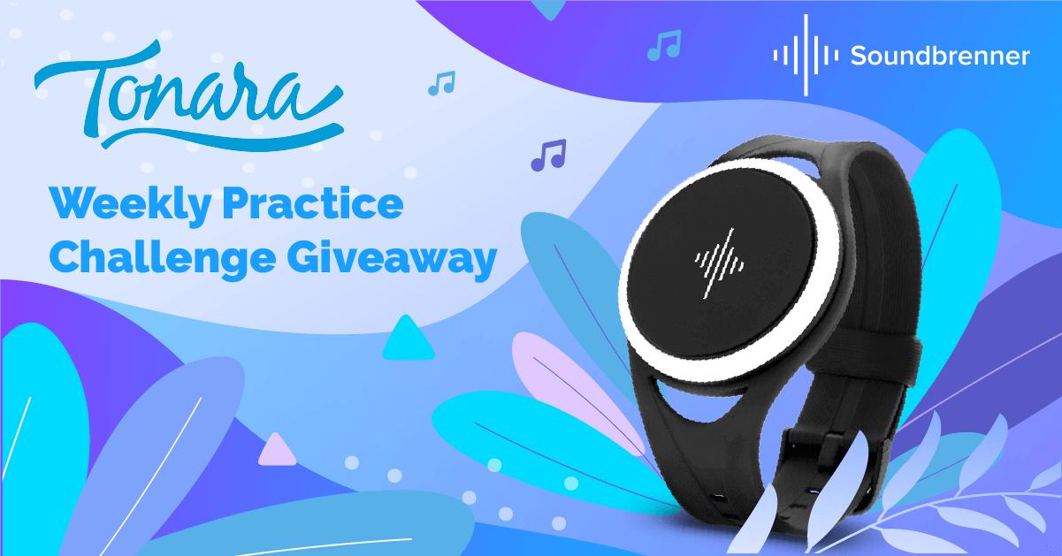 Tonara Weekly Practice Challenge Giveaway