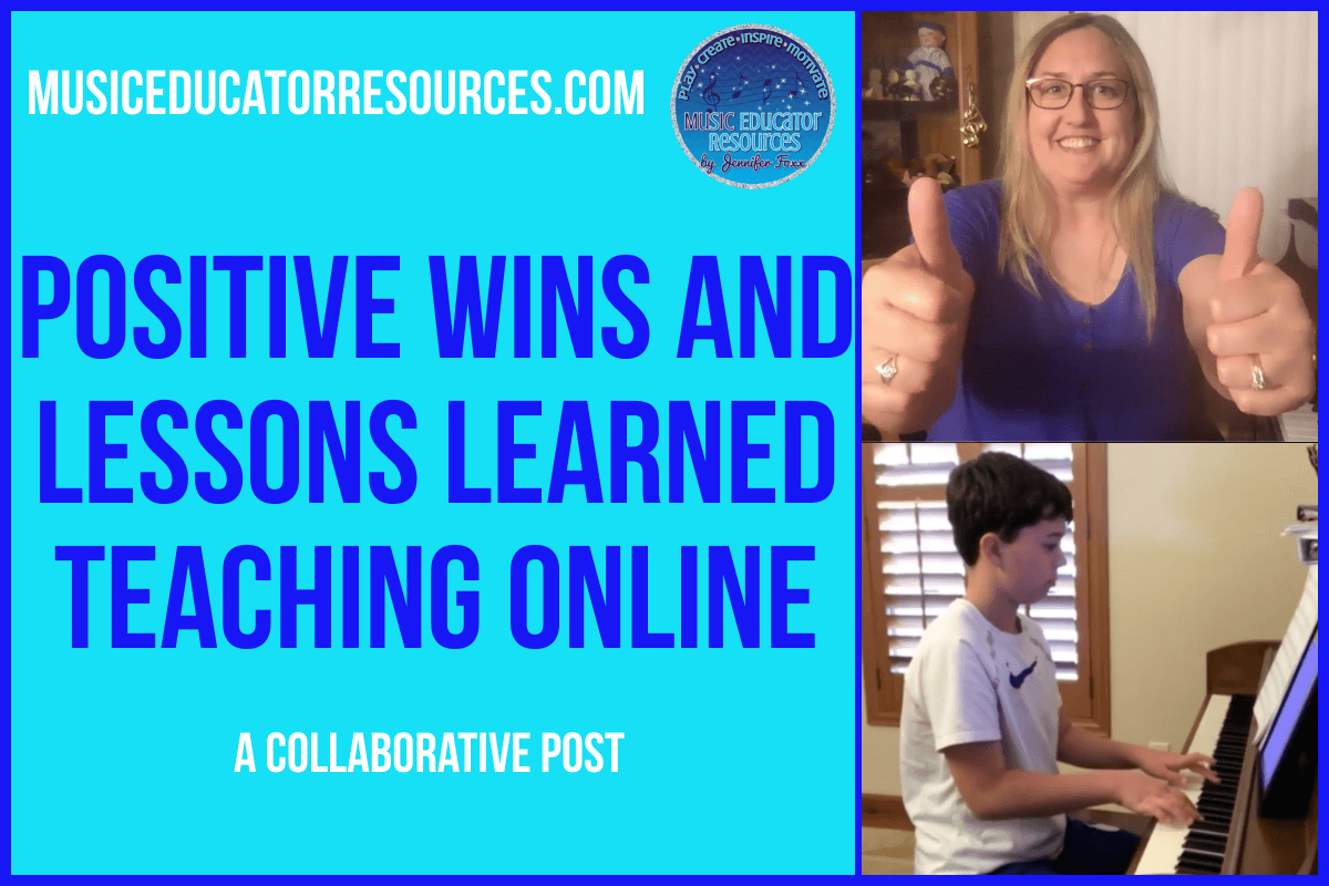 Positive Wins and Lessons Learned Teaching Online
