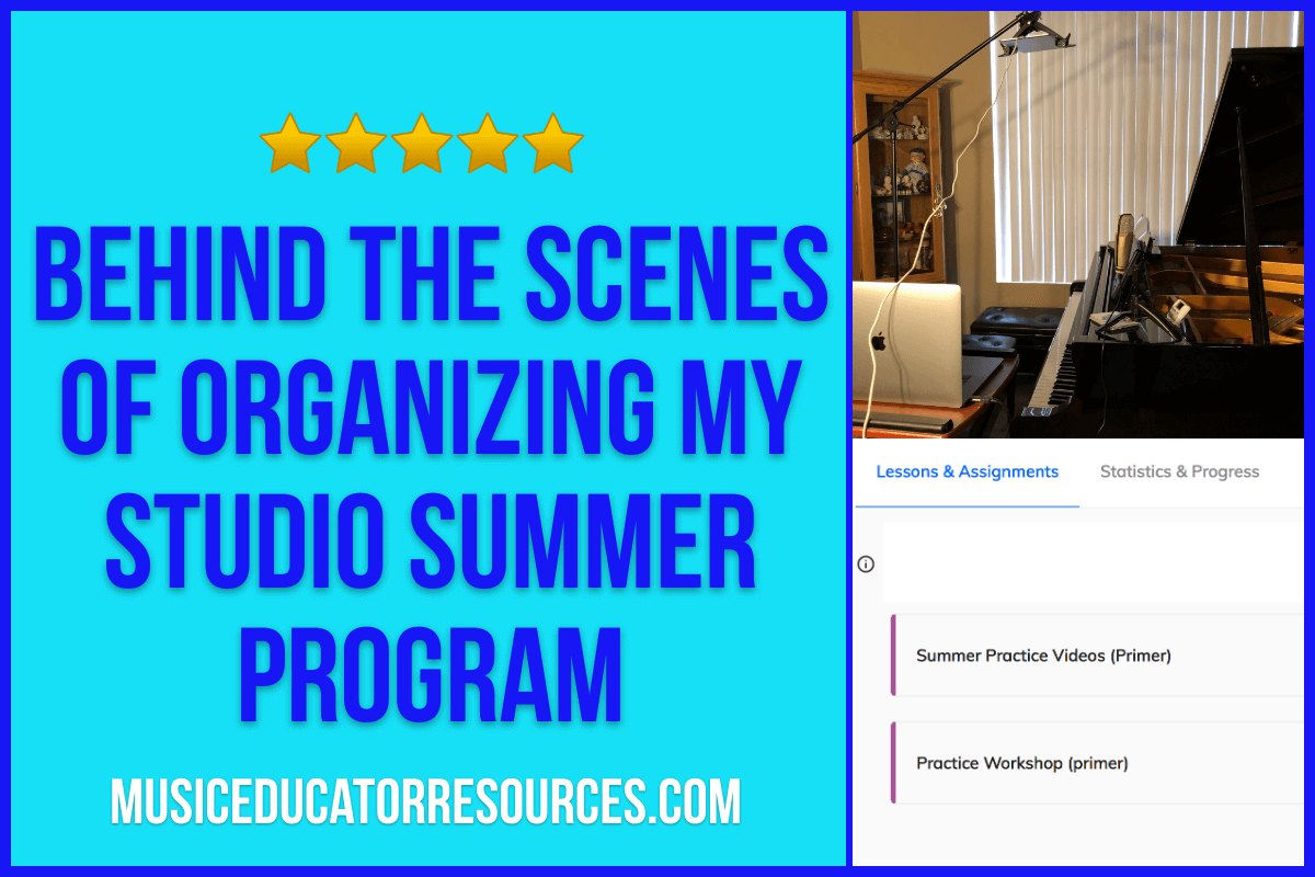 Behind the Scenes of Organizing My Studio Summer Program