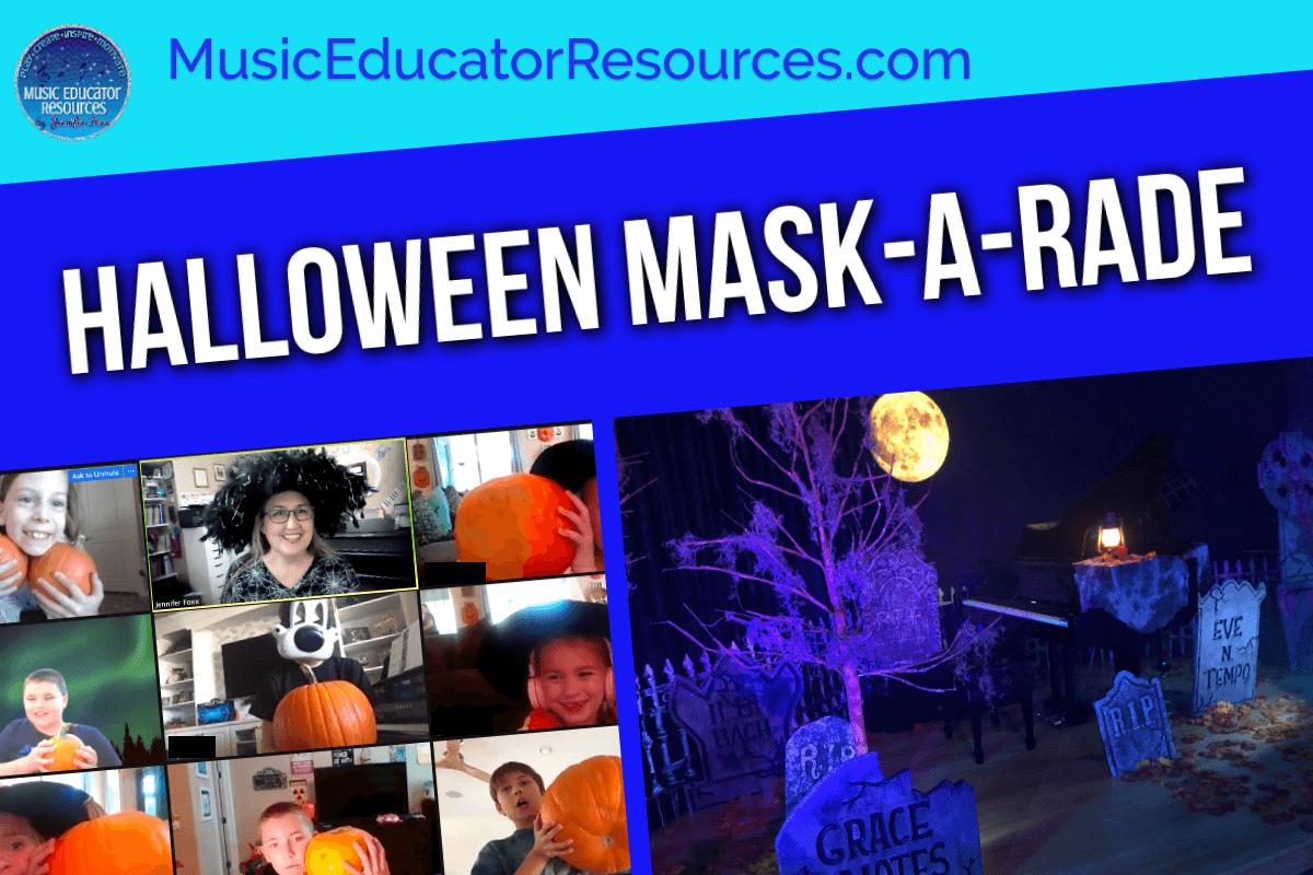 Halloween Mask-A-Rade