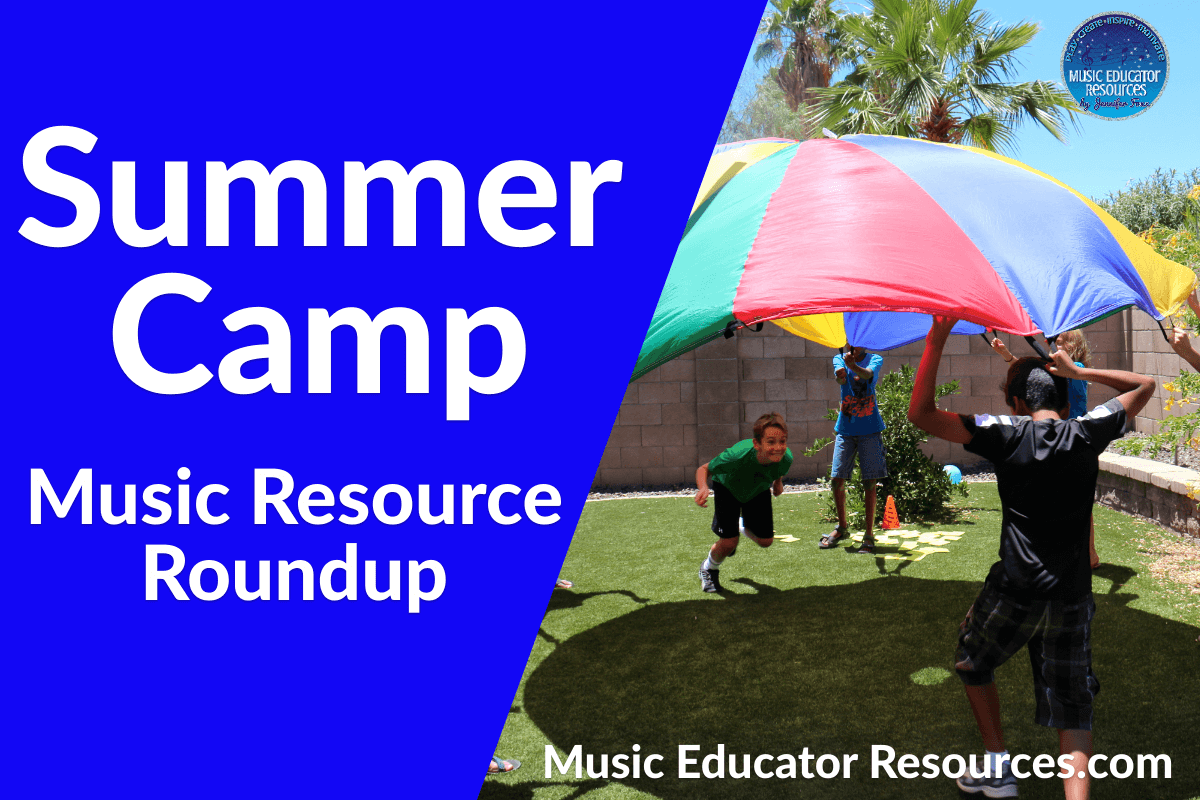 Summer Camp Music Resource Roundup